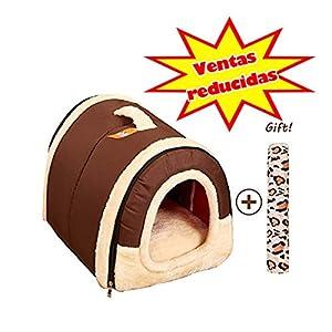 2 en 1 animal domestique et lit salle d'animaux Portable Network Voyage Pliable chats et chiens multifonctions lit animal lavable amovible, maison confortable et pratique pour animaux