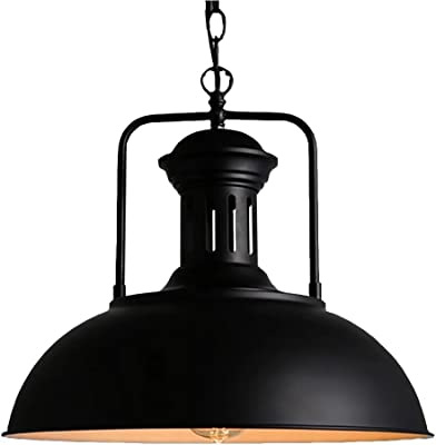 Amazon.com: xuexin luz colgante luz estilo americano ...