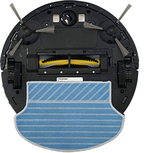 Blaupunkt Bluebot XSMART Saugrobotor mit Wischfunktion und App-Steuerung, 35W, 180 m2 Reichweite, 0,5L Staubbehälter mit HEPA-Filter (Amazon Alexa kompatibel) - 2