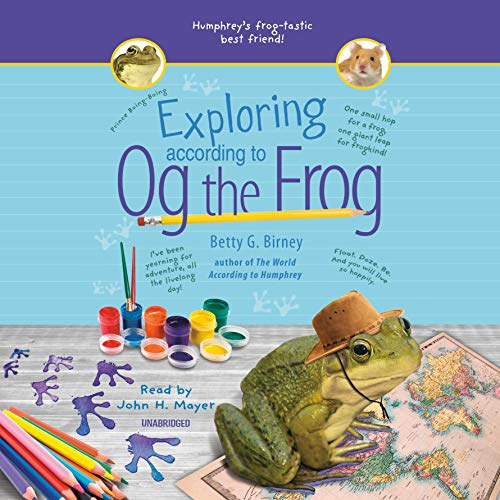 Exploring According to Og the Frog audiobook cover art