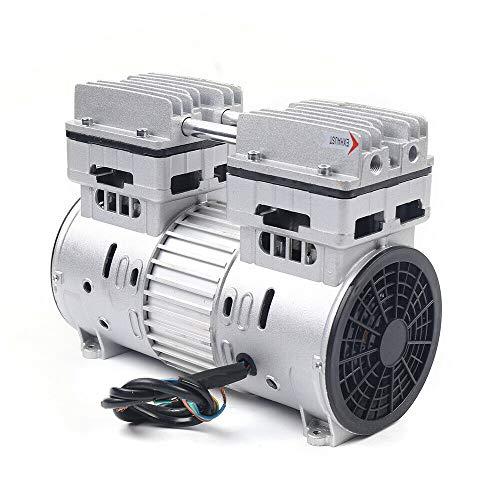 Compresor sin aceite de 1400 rpm, 1 CV, generador de compresor de 8 bares, para compresor de aire comprimido silencioso.