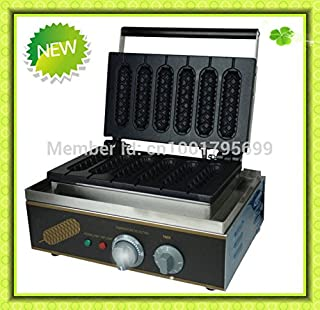 ~French sausage machine,Hot Sale commercial Use Electric Lolly Waffle Maker Machine