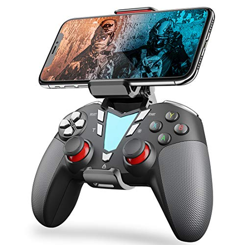 Mobile Game Controller for Fortnitee, IFYOO ONE Pro Wireless Gaming Gamepad, Compatible with iPhone iPad(NOT Include iOS 13.4 or Above), Android Phone/Tablet/TV, PC Win Steam - White