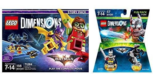 LEGO Batman Movie Story Pack + Excalibur Batman Fun Pack - LEGO Dimensions - Not Machine Specific