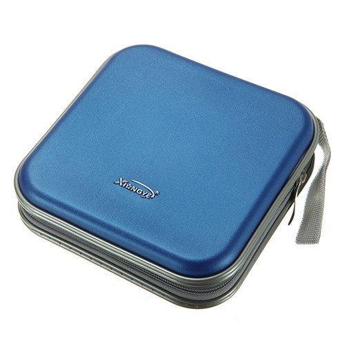 Xiton Tragbare 40 CD DVD VCD Disc-Halter-Aufbewahrungsbehälter-Beutel-Mappen-Kasten-Schutz-Organizer