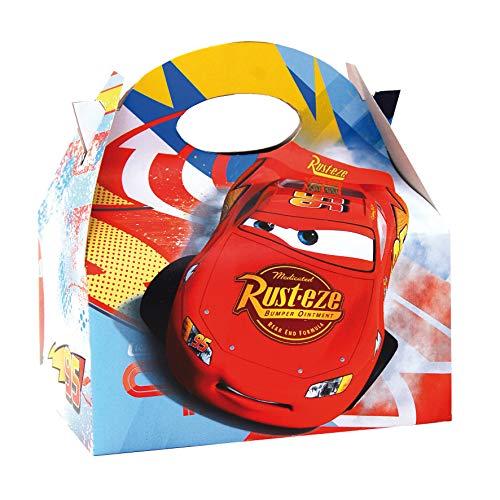 0658, pak 4 kartonnen dozen voor Disney Cars-snoepjes, voor feesten en verjaardagen