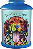 Spoontiques Dean Russo Dog Cookie Jar, One Size, Multicolored