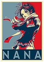InstabuyポスターNana Propaganda Osaki-Formato A3(42x30 cm)