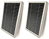 Nispira HEPA Replacement Filter F2 Allergen Reduction + Odor Defense Compatible with Filtrete Air Purifier Model FAP-C02-F2 and FAP-T03-F2. Compared to Part FAPF-F2-O. 2 Units