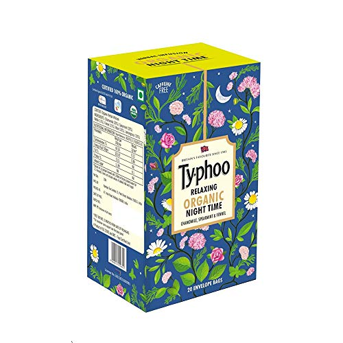 Typhoo Relaxing Organic Night Time Tea Bags (20 Tea Bags)