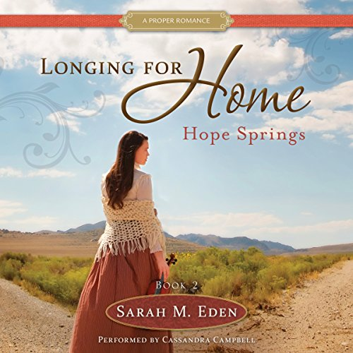 Hope Springs Audiobook By Sarah M. Eden cover art
