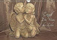 Engel - Die Worte der Liebe (Wandkalender 2022 DIN A4 quer): 12 Engelbotschaften begleiten Sie durchs Jahr. (Monatskalender, 14 Seiten )