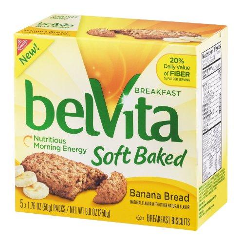 Belvita Soft Baked Breakfast Biscuit Banana Bread