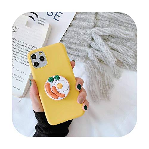 N/A 3D Cute Cartoo Oreo Cookies Weiche Handyhülle für iPhone X Xr Xs 11 Pro Max 6S 7 8 Plus Halter Cover für Samsung S8 S9 S10 Note A für S9 Plus