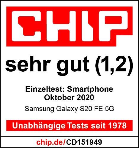 Samsung Galaxy S20 FE 5G, Android Smartphone ohne Vertrag, 6,5 Zoll Super AMOLED Display, 4.500 mAh Akku, 128 GB/ 6 GB RAM, Handy in Grün inkl. 36 Monate Herstellergarantie [Exklusiv bei Amazon] - 7