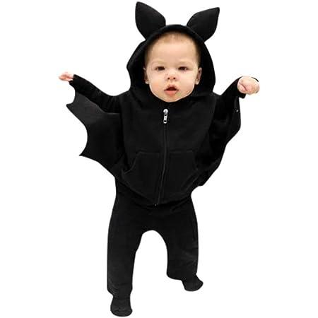 74-92 Baby Teufel mit Flügeln Halloween Horror Party Kostüm rot für Babys Gr