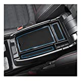 YEE PIN 2020 Escape Center Console Organizer Tray Escape Armrest Tray Armrest Box Secondary Storage Insert ABS Materials Tray Compatible with 2020 2021 Escape Hybrid 2021 Bronco Sport Console Tray