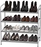 Simple Houseware 4-Tier Shoe Rack Storage Organizer...