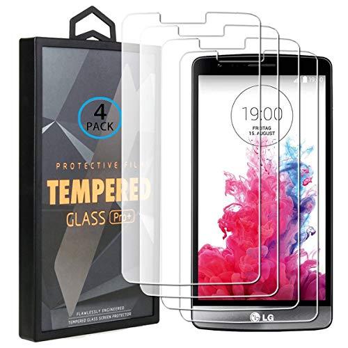 Ycloud 4 Pack Vidrio Templado Protector para LG G3s / LG G3...