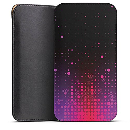 DeinDesign Cover kompatibel mit Wiko Jimmy Hülle Tasche Sleeve Socke Schutzhülle Punkte Muster Pattern