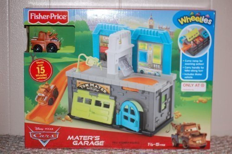 Disney Pixar Cars Wheelies Playset - Mater's Garage by Wheelies