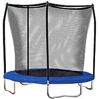 Skywalker Trampolines 8-feet Trampoline with Safety Enclosure (Blue)