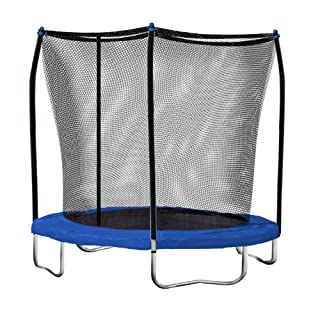 Skywalker Trampolines Round Trampoline and Enclosure with Blue Spring Pad, 8' - 8-Feet (SWTC800) (B007V66OR4) | Amazon price tracker / tracking, Amazon price history charts, Amazon price watches, Amazon price drop alerts