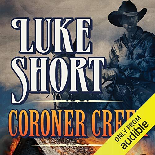 Coroner Creek audiobook cover art