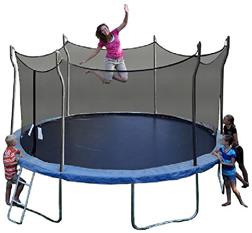 Propel Trampolines P14D-BE Trampoline with Enclosure, 14'...