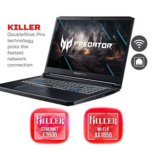 Acer Predator Helios 300 Gaming Laptop, Intel i7-10750H, NVIDIA GeForce RTX 2070 Max-Q 8GB, 17.3