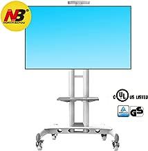 Noth Bayou NB AVA1500-60-1P - Blanco El Soporte móvil de Suelo para Pantallas LCD, LED, Plasma y curvadas de 32
