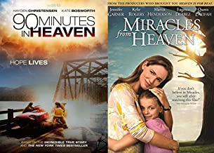 Jesus Is In Heaven Making Magic: Heaven Is For Real & 90 Minutes In Heaven 2 DVD Faith Based True Stories Bundle