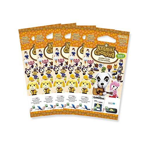 5x Amiibo Karten 3 Stück Animal Crossing Happy Home Designer Vol. 2