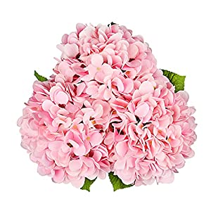 Artificial Hydrangea Silk Flowers for Wedding Bouquet for Sale