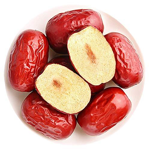16 Oz Organic Dates Dried, Medjool in resealable bags, Red Dates/Sweet Jujube/Sugar Hong Zao, Vegan Grocery & Gourmet Food Snack Foods Dried Fruit (1 Lbs )