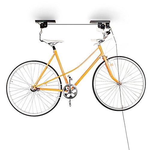Haushalt International Fahrradlift Fahrradgarage Fahrrad Halter Fahrradhalter Seilzug