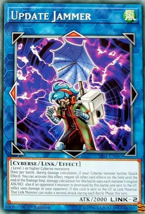 Yu-Gi-Oh! - Update Jammer - SAST-EN045 - Savage Strike - First Edition - Common