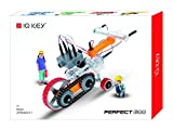 IQ Key Perfect 600 – STEM Educational Assembly Toy Kits, Creative Construction Engineering Builder Set for Kids [20 Models]