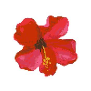 Flower Color by Number - Pixel Art