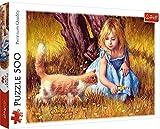 Brandsseller Jim Daly - Puzzle (500 piezas), diseño de niña con gato
