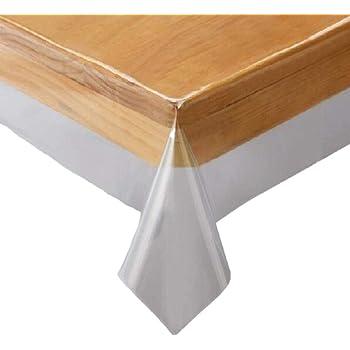 川島織物セルコン 透明ビニルクロス テーブルクロス 130×200cm JJ1029