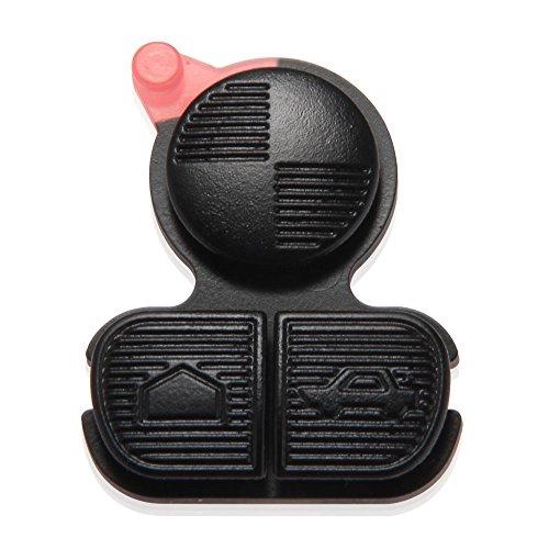 CARCHET® Schlüsselgehäuse Schlüssel Tastenfeld mit 3 Tasten für BMW E36 E38 E39 Z3