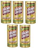 Bon Ami Polishing Cleanser Powder, 14 Ounces, Sold as 5 Pack