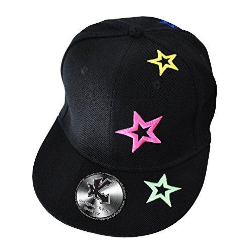 "Underground Kulture Neon Stars Casquette de Baseball 64 cm (8"")"