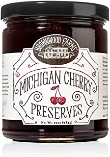 Michigan Cherry Preserves by Brownwood Farms (10 ounce)