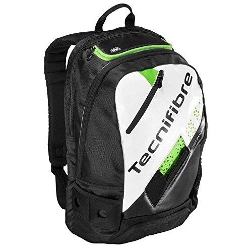 Tecnifibre Squash Green Backpack- Black/Green/White