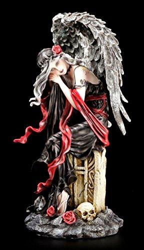 Dark Angel Engel Figur - Ich warte auf Dich - Gothic Fantasy Deko