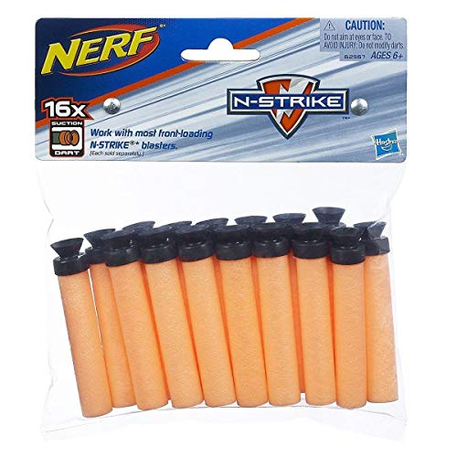 Nerf N-Strike Suction Dart, 16-Pack