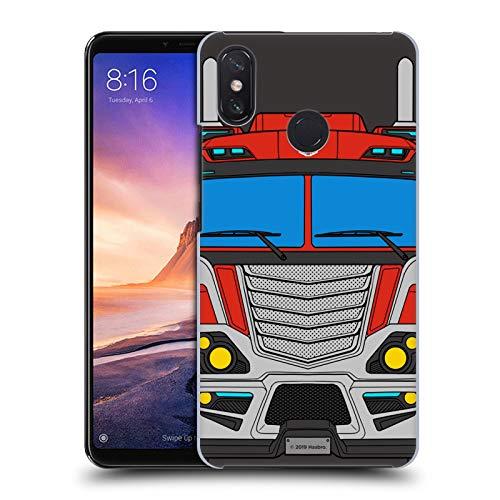 Head Hülle Designs Offizielle Transformers Optimus Prime Wechsel Mode Harte Rueckseiten Handyhülle Hülle Huelle kompatibel mit Xiaomi Mi Max 3