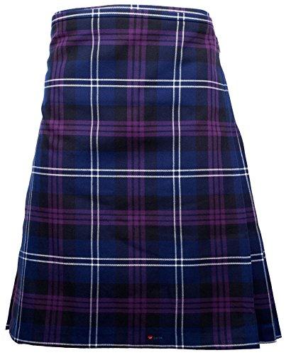 I Luv Ltd Gents Scottish Kilt Full 8 Yard 24in Drop Waist 58-60 Colour Heritage Of Scotland Tartan